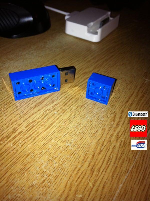 Lego USB Bluetooth Stick With Lid