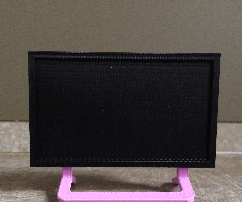 3D Printed Dollhouse Flat Screen TV