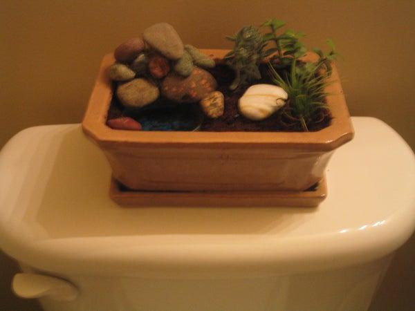 Toilet Powered Deodorant Zen Garden