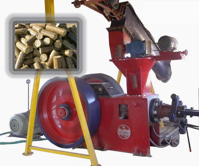 Biomass briquetting plant, White coal plant and press machine manufacturers