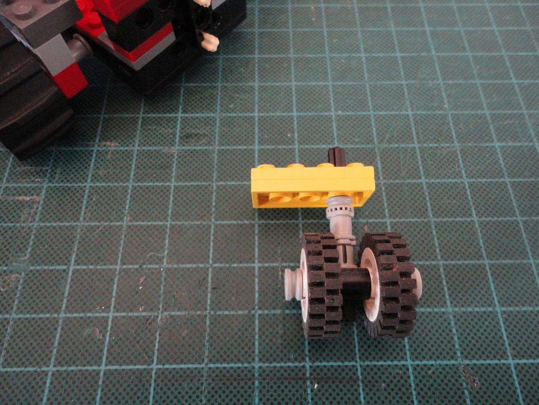 Battery Compartment & Castor