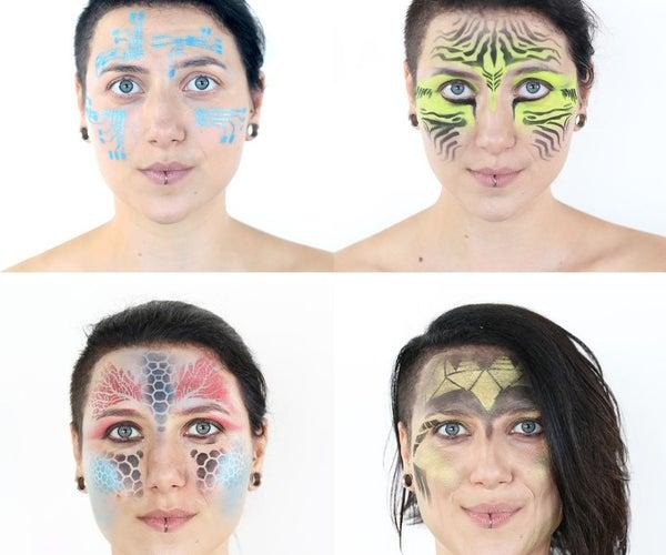 DIY Makeup Stencils