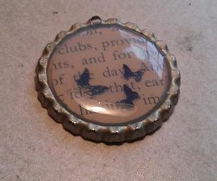Bottle Cap Pendant