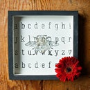 Cute DIY Alphabet & Bee Wall Art