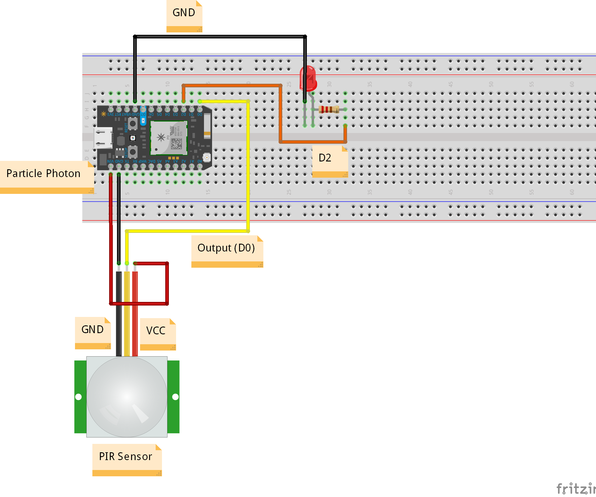 Conference Room Monitoring Using Particle Photon