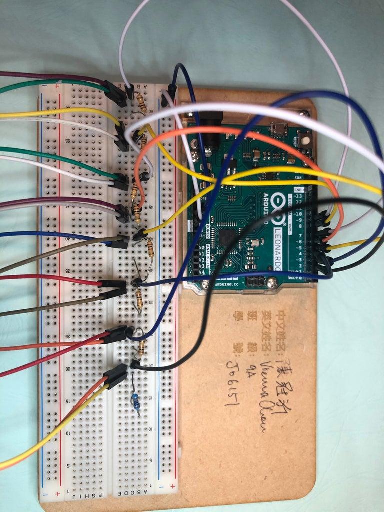 Step 1 : Finish the Led Lights