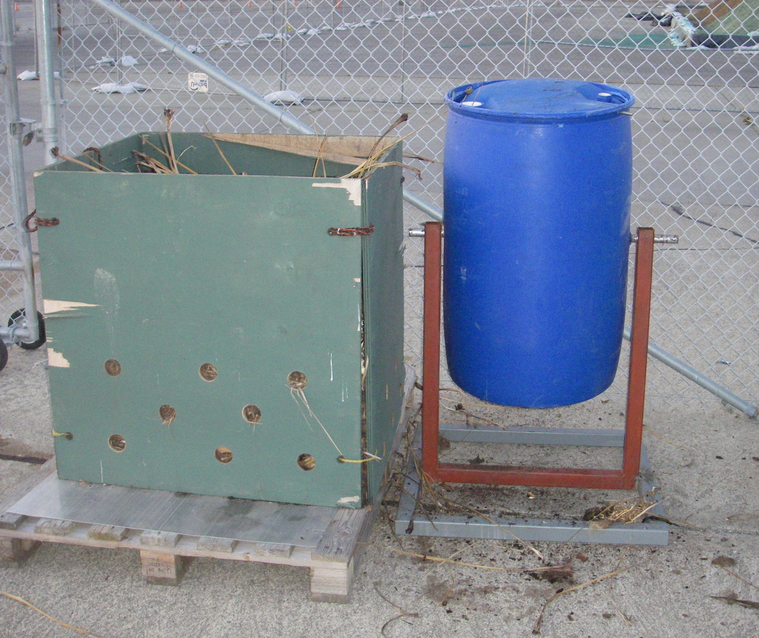 Yet Another Compost Tumbler