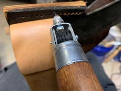 Stitching and Another Round of Burnishing