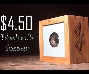 $4.50 Bluetooth Speaker