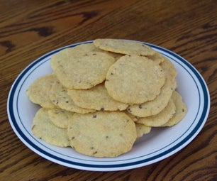 Gluten Free White Cheddar Cheese Crackers