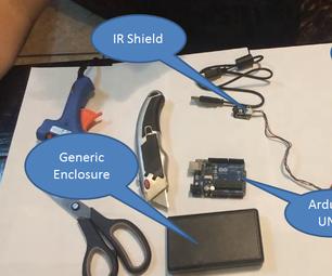 Build an XBMC/KODI Remote With Arduino, IR Sensor Shield and VB.NET