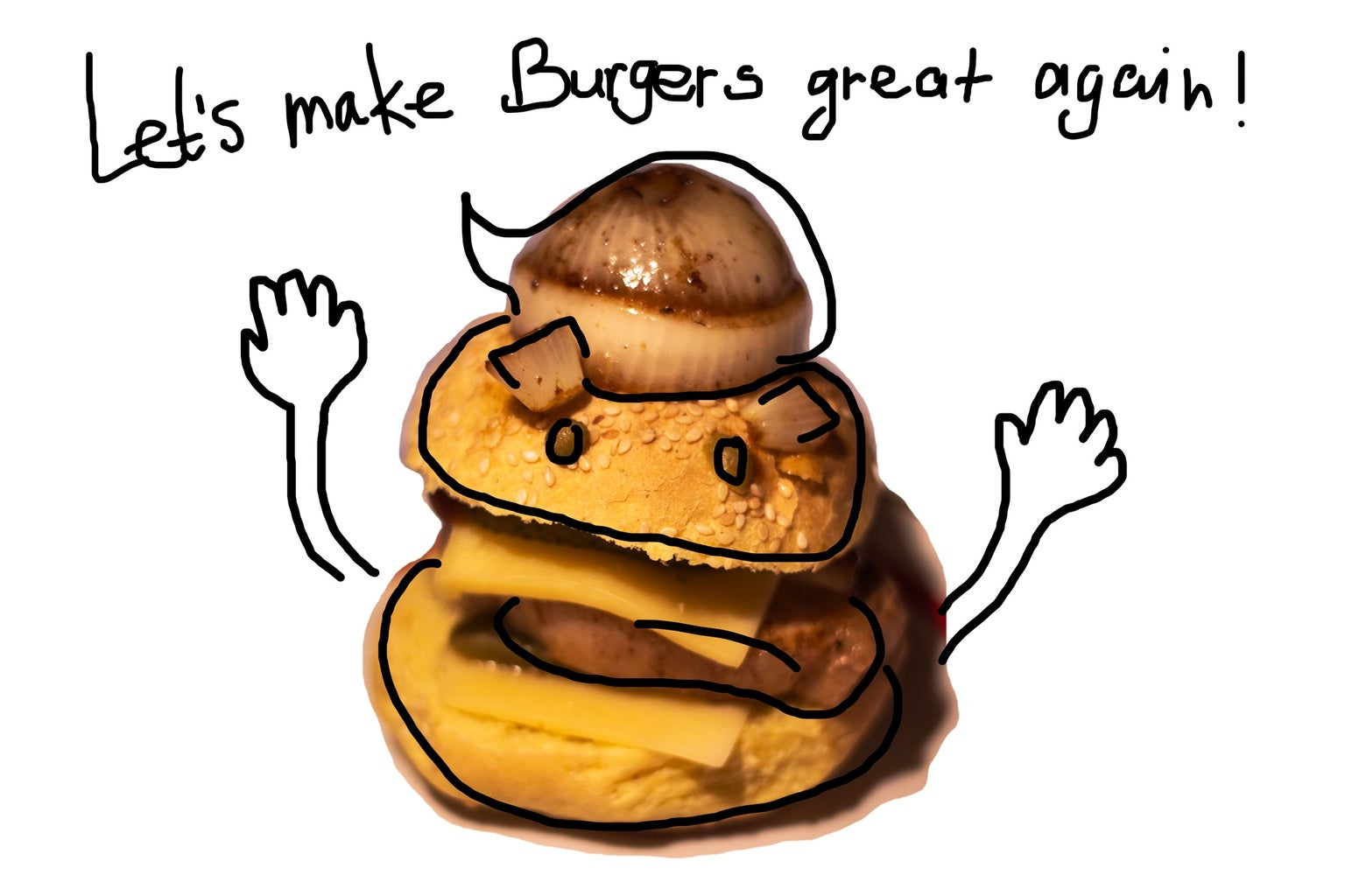 Let's Make Burgers Great Again!