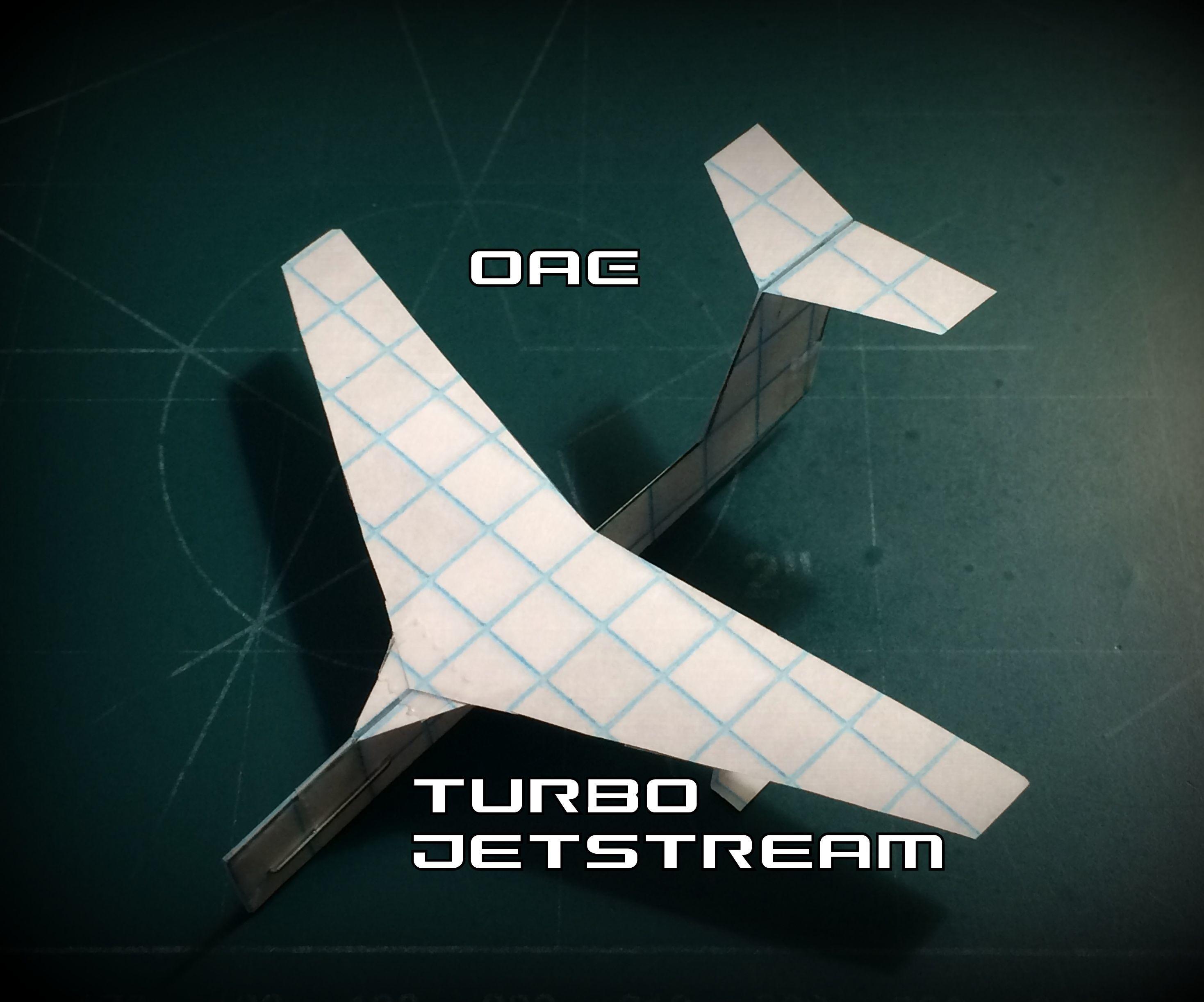 How to Make the Turbo Jetstream Paper Airplane