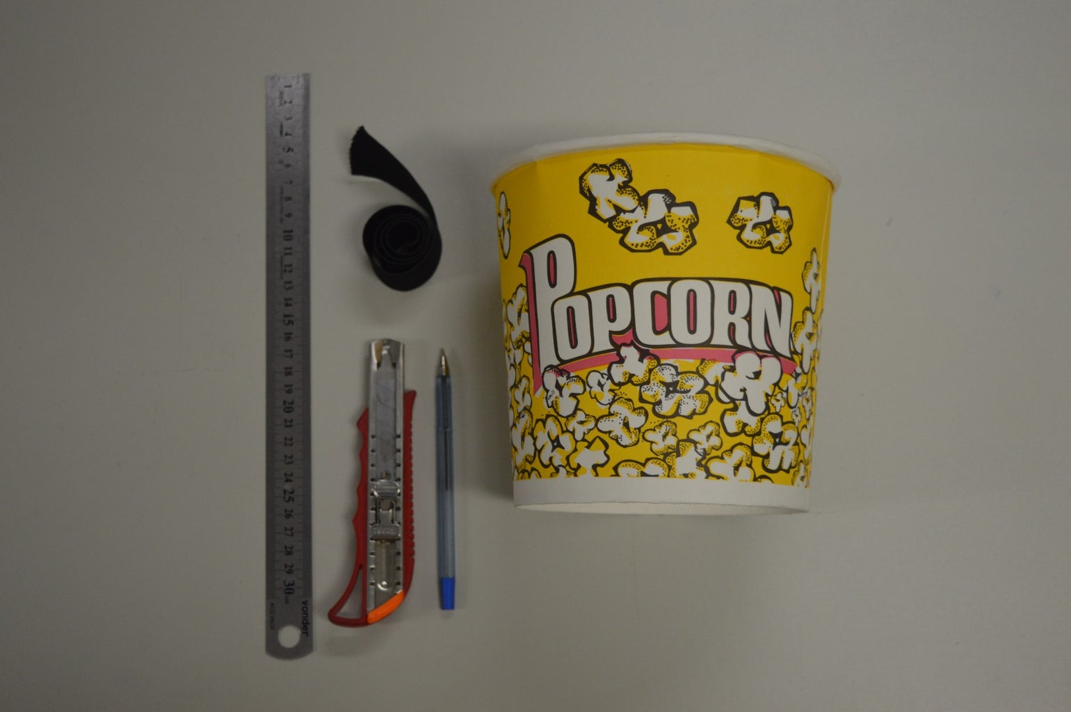 Bucket of Popcorn and Other Things