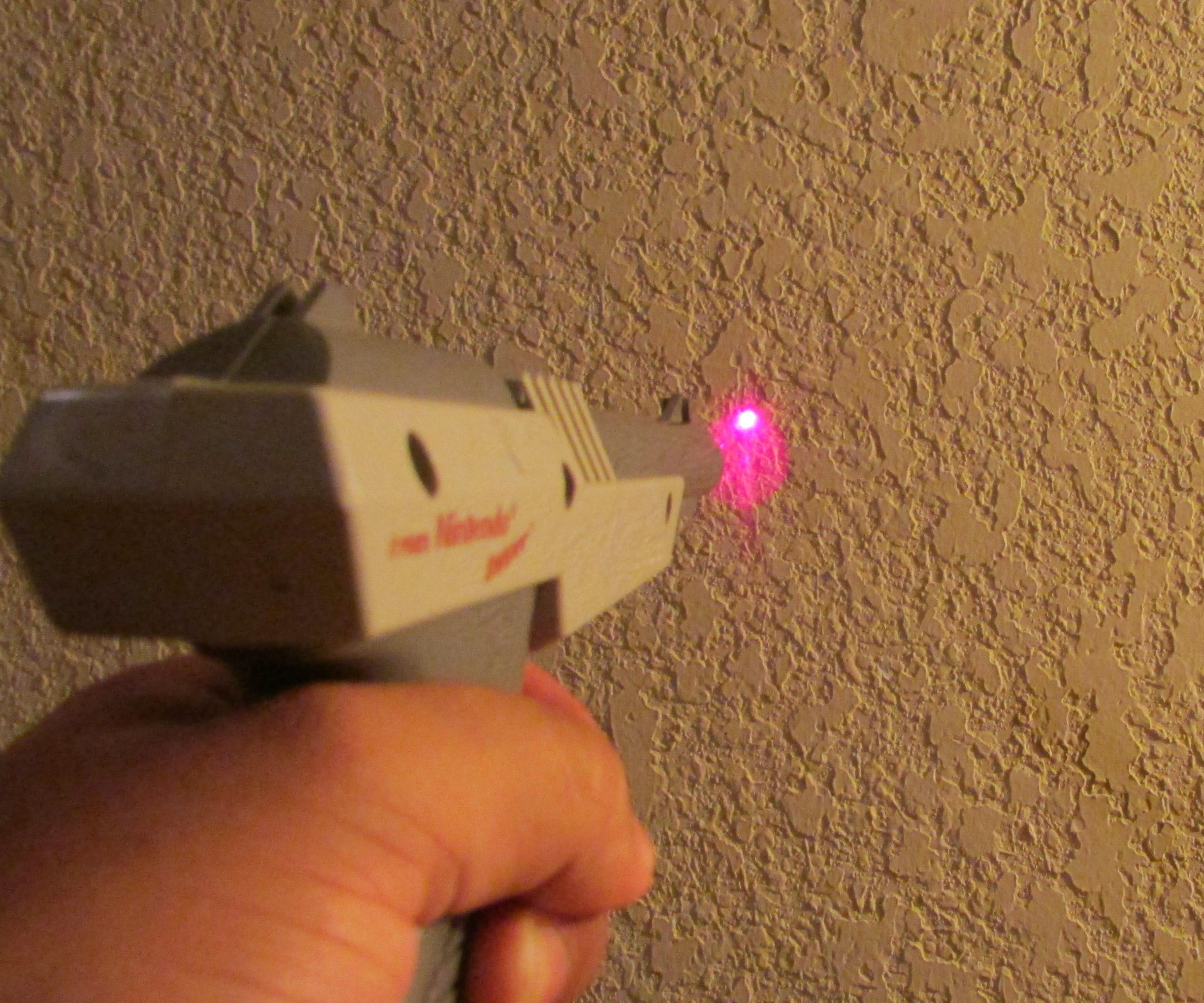Nintendo Laser Zapper - No Solder