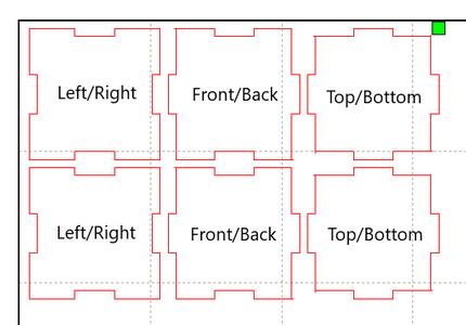 Laser Cut Cube and Pillar Files, Assemble Pillars and Cubes