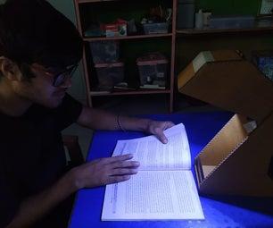 Cardbroad Study Lamp