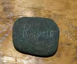 Engraving Stone With Dremel