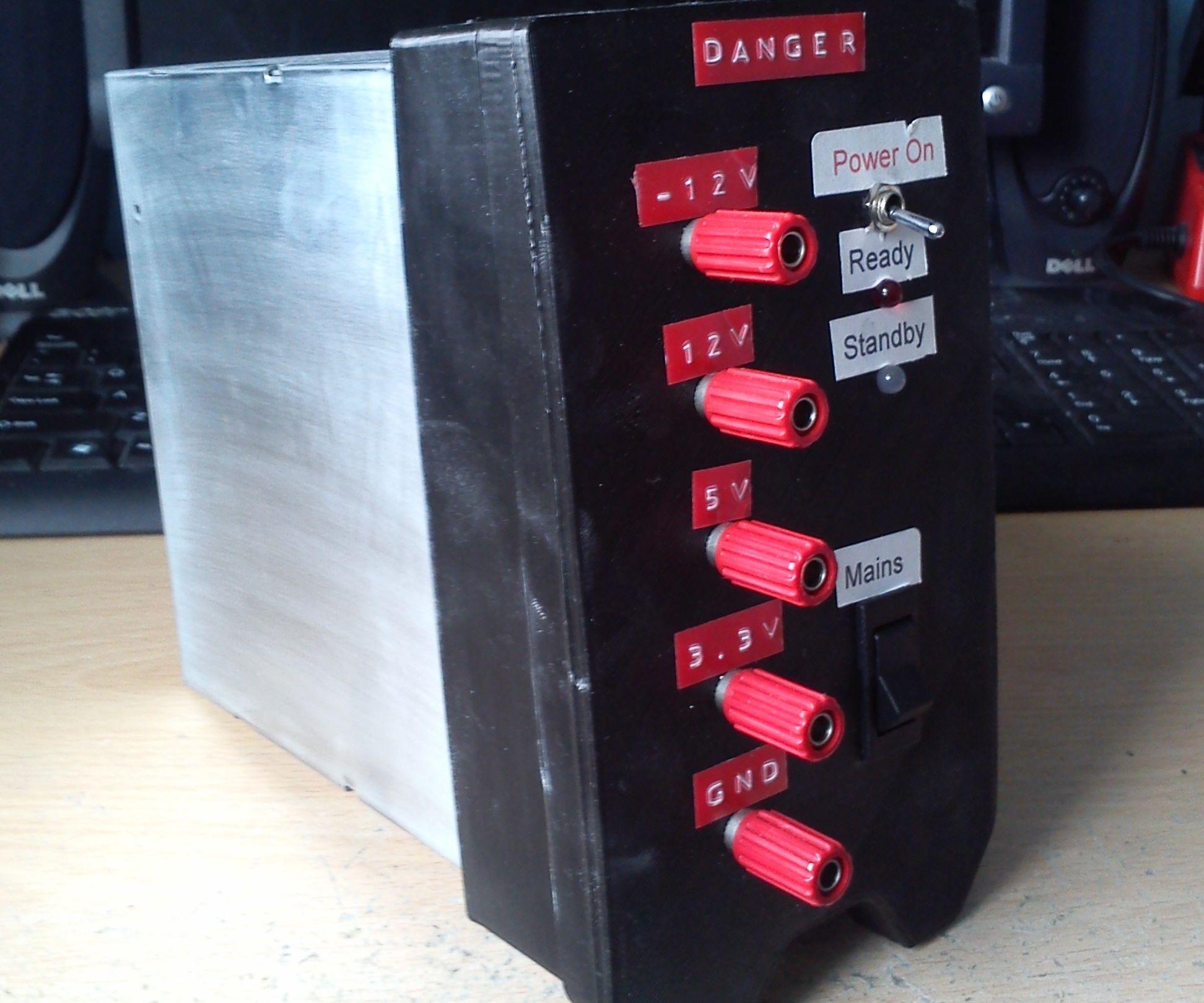 Diy Bench Power Supply (3D Printed)