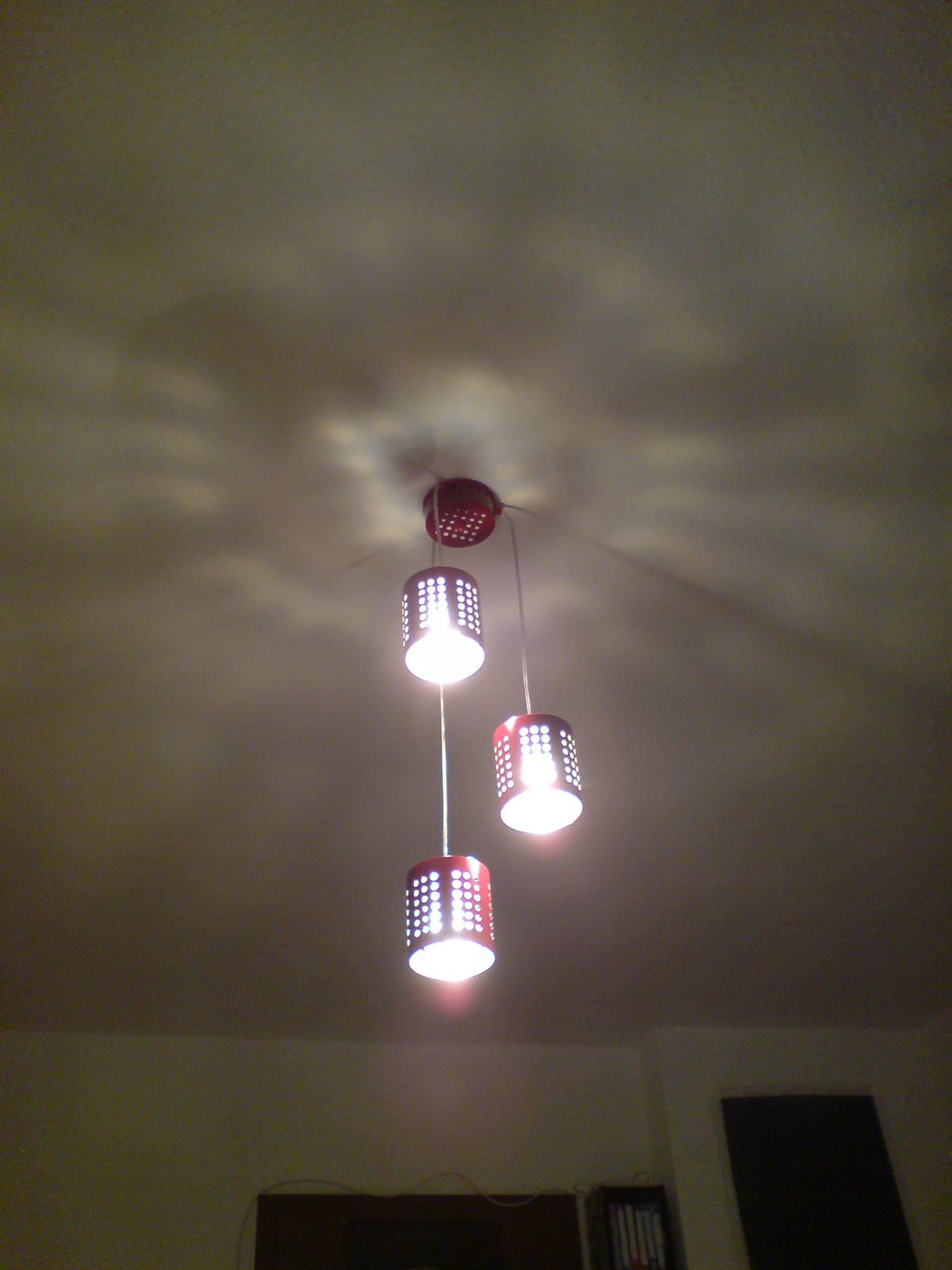 IKEA Hackers: ORDNING hanging lamp