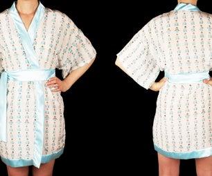 Custom Print Kimono