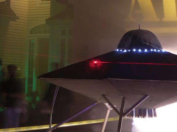 UFO Invasion at Area 51 Halloween Display