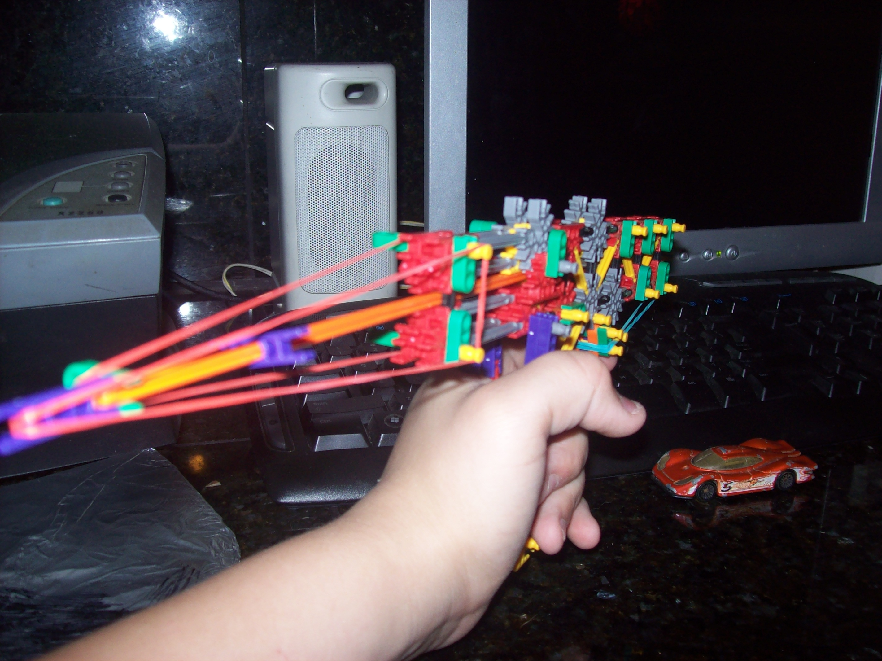 knex minis, gun with true trigger