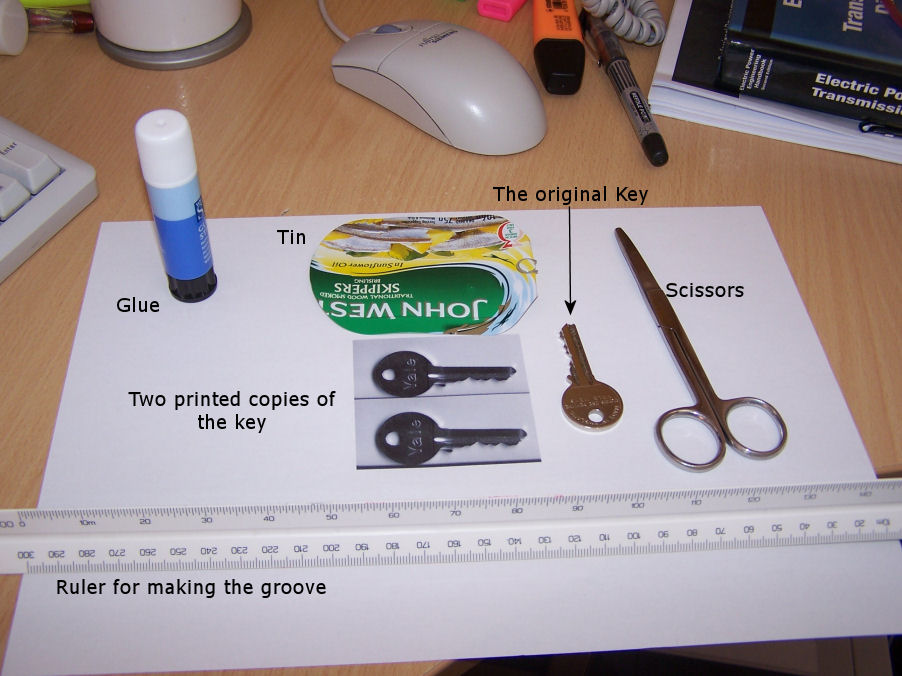 Forget lock picking, clone/copy the key and be a spy