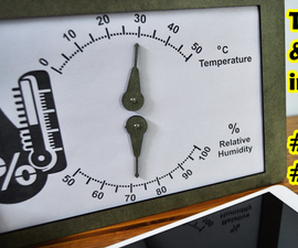Temperature and Humidity Indicator by Arduino