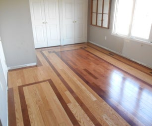 Patterned Hardwood Floor