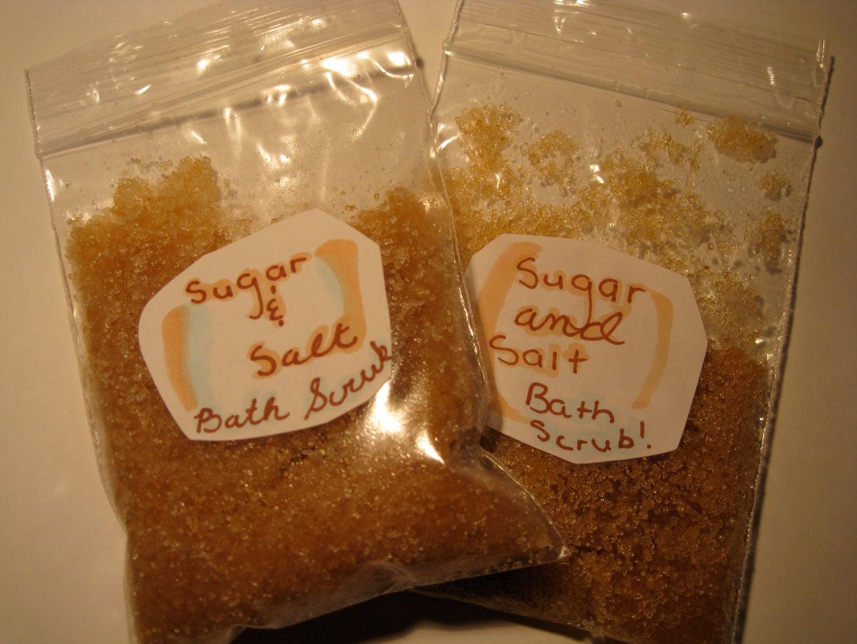 Easy Gifts: SALT & SUGAR SCRUB!