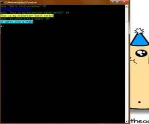 Multiple Colors in Cmd