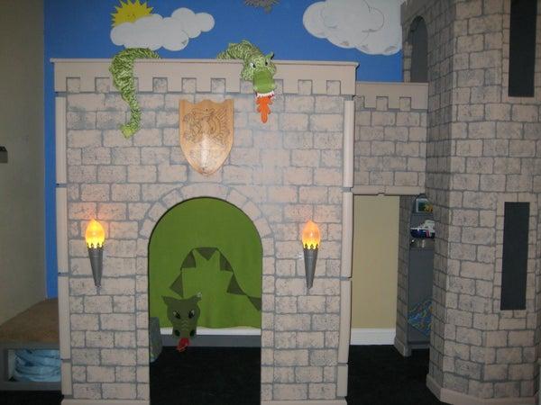 Indoor Wooden Castle
