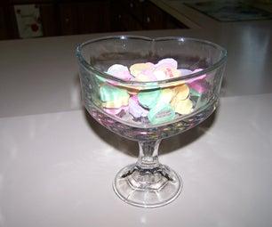 Sweetheart Pedestal Candy Dish