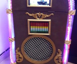 DIY Disco-Karaoke Jukebox