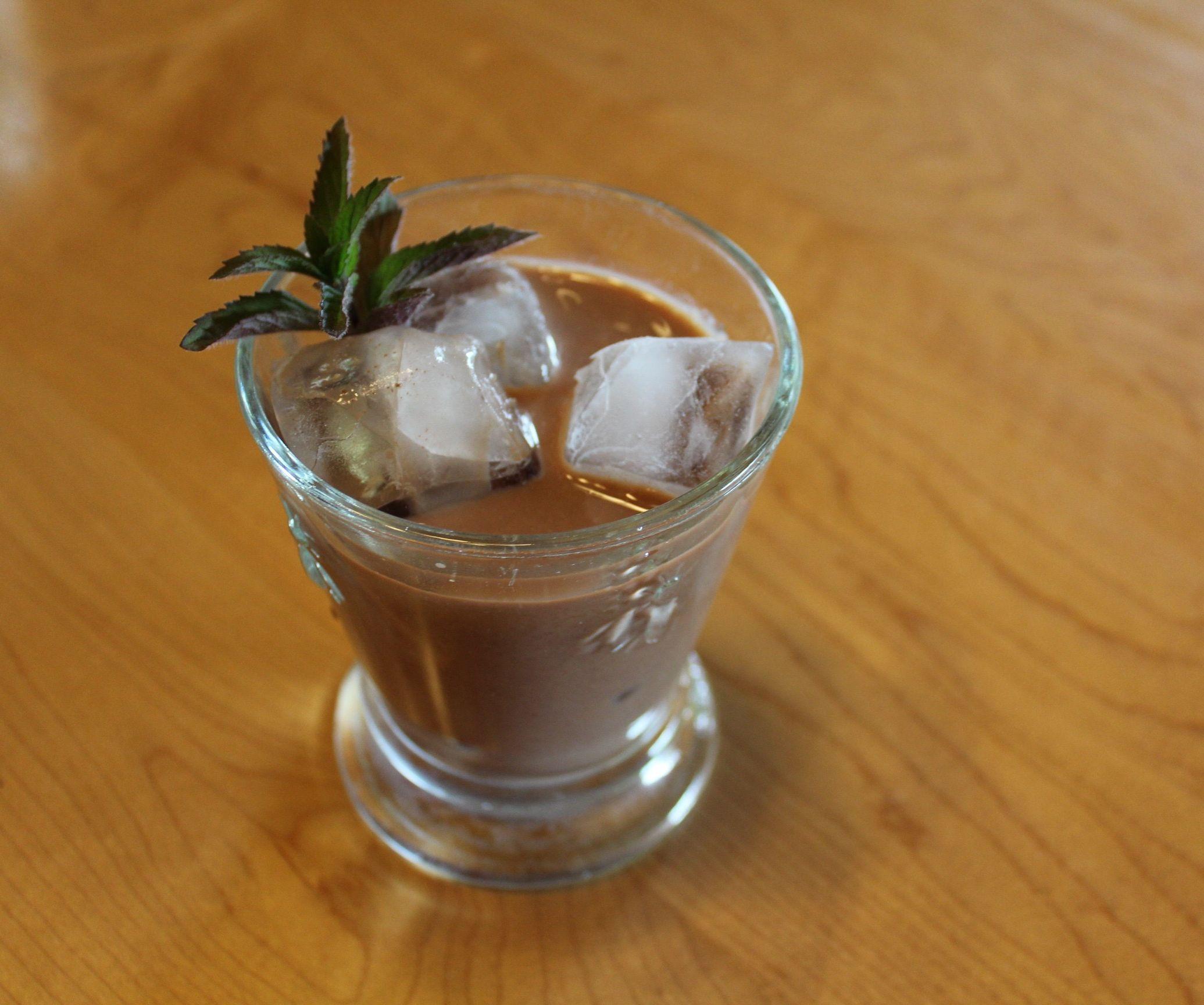 Mint Chip Iced Tea