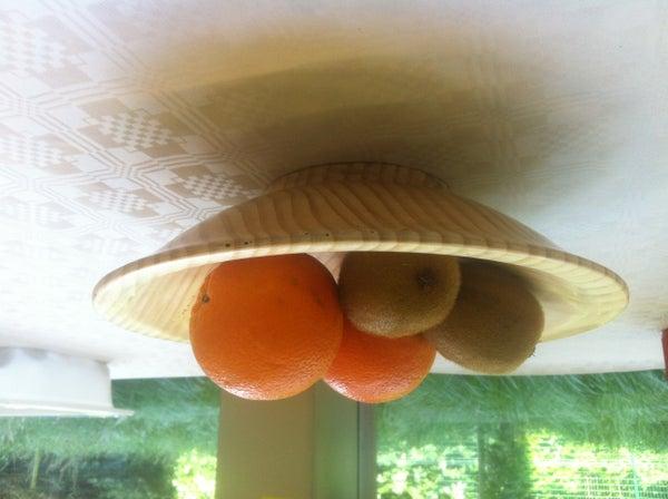 Wood-turning: Fruit Bowl