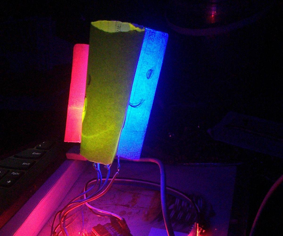 Arduino Bluetooth RGB Mood Light in 5 Minutes
