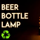 DIY Beer Bottle Lamp