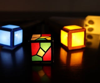 Illuminated Paper Torches for Kids (Easy Paper Circuits)