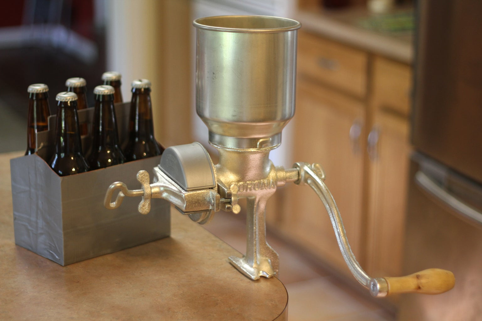 Corona Mill Mods for All Grain Brewing