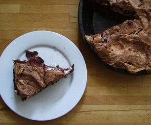 Black Forest Meringue Pie