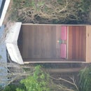 DIY Garden Seat / Outdoor Hut With Cover