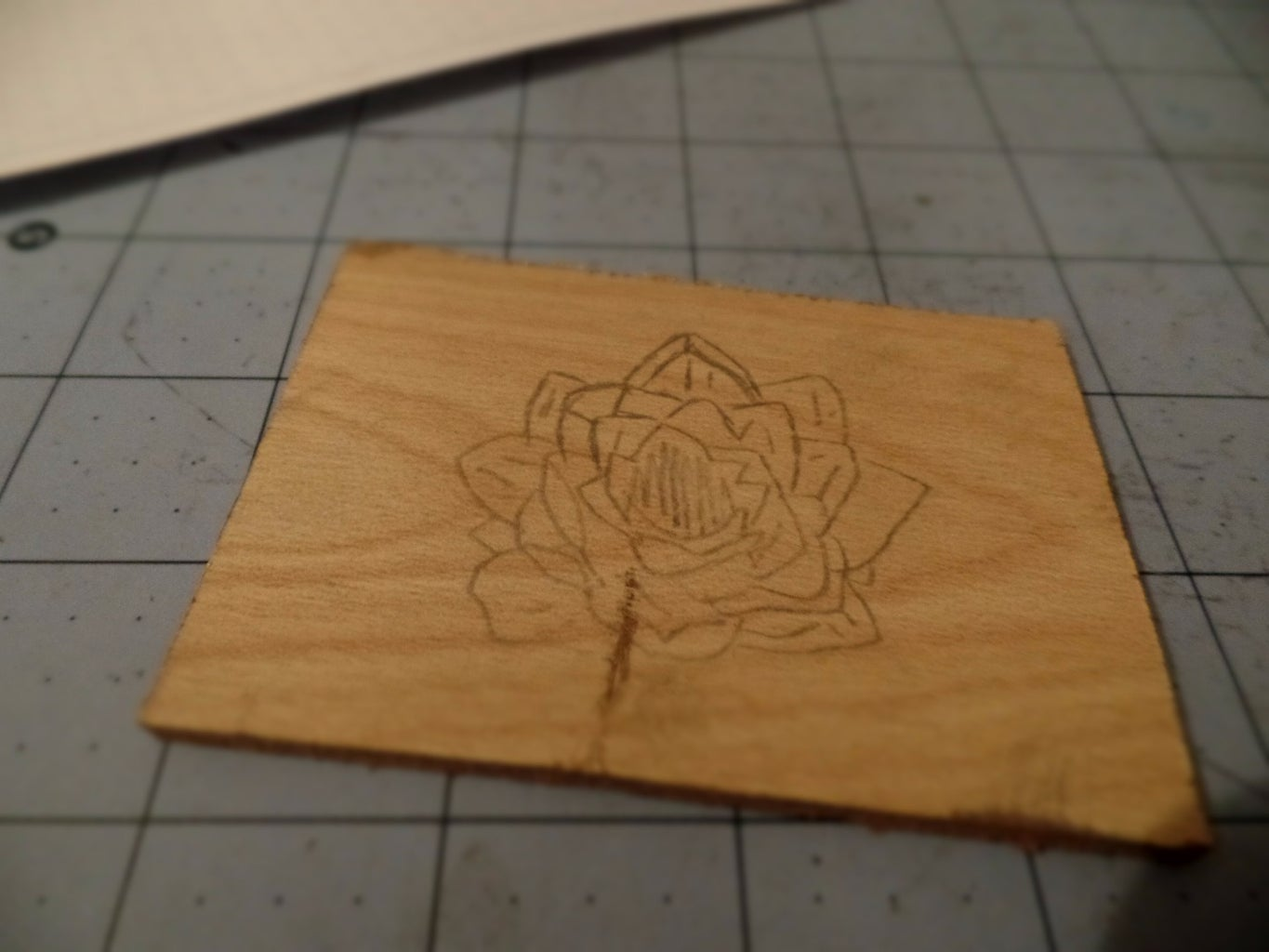 Copy Your Design Onto the Piece of Wood
