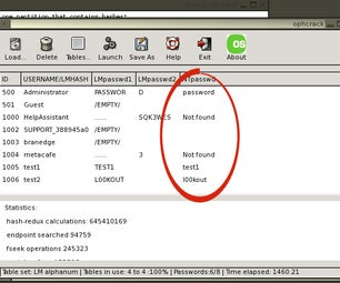 Hack Windows XP Passwords