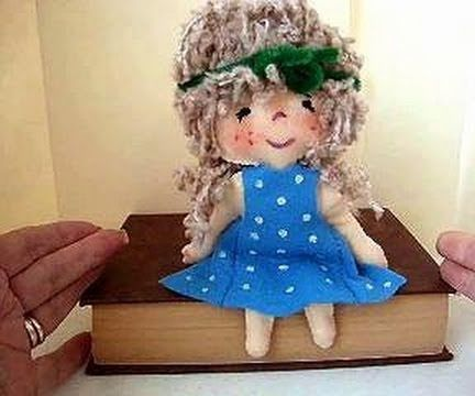 Little Felt Doll