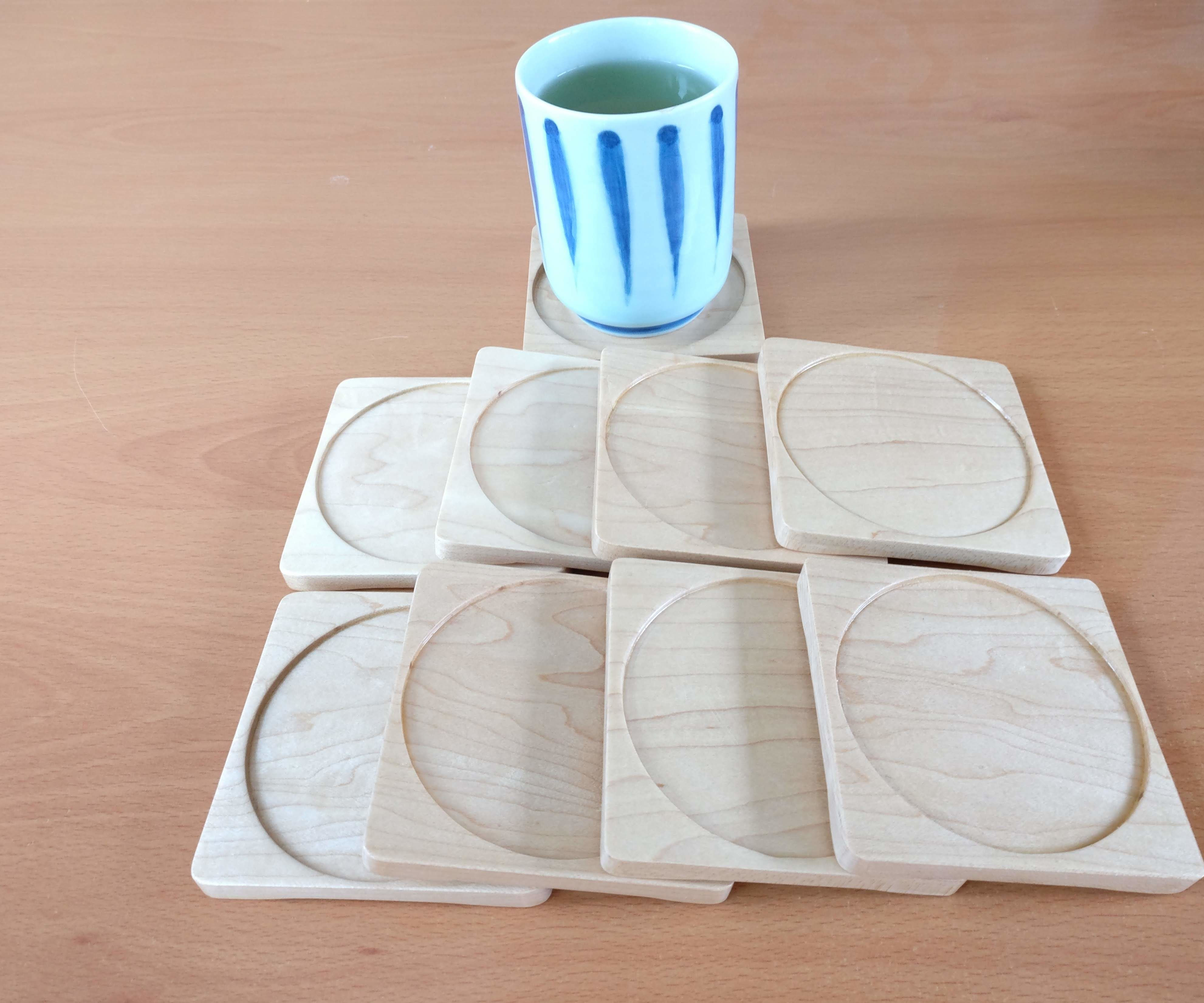 Making Some Simple Wooden Coasters