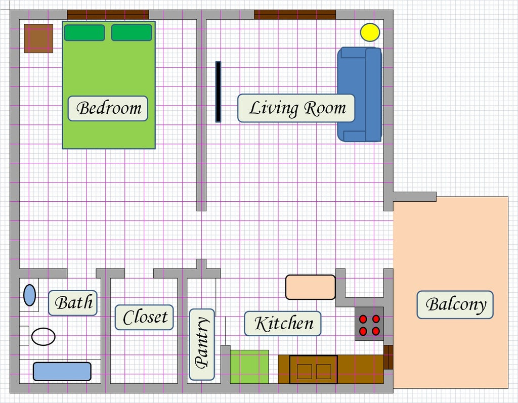 Create Floor Plan Using MS Excel : 11 Steps (with Pictures