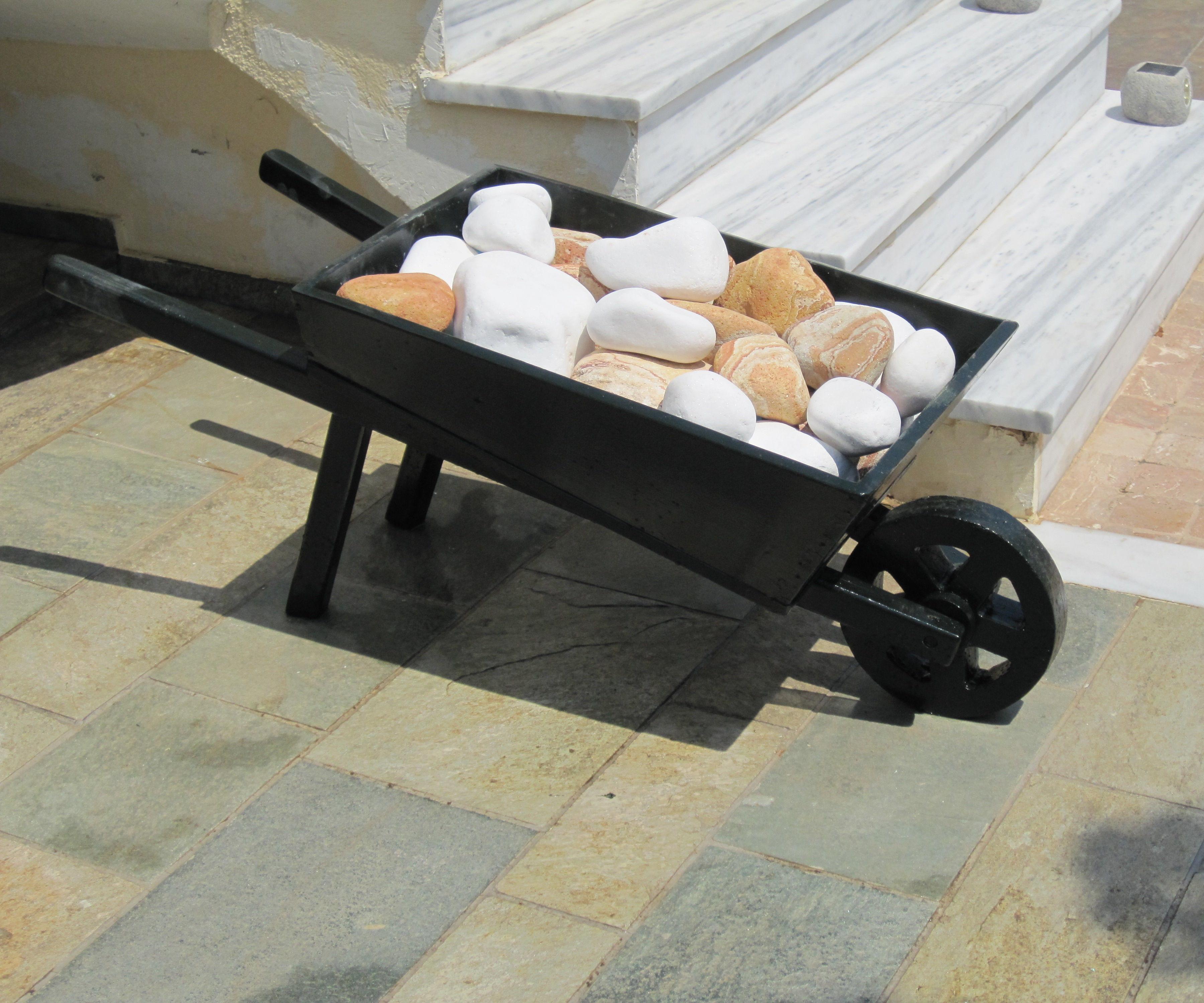Wheelbarrow refurbished,