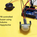 PIR Controlled Buzzer Using Arduino